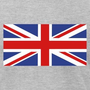 Heather grey UK - Great Britain T-Shirts - Men's T-Shirt by American Apparel