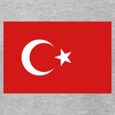 Heather grey Turkey T-Shirts