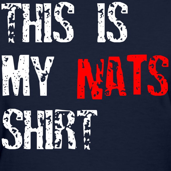 This is my Nats 11 Navy