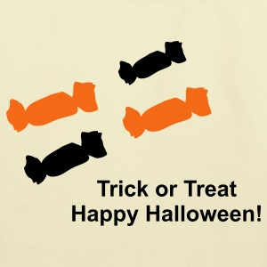 Trick or treat Happy Halloween - Eco-Friendly Cotton Tote