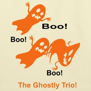 The Ghostly Trio - Eco-Friendly Cotton Tote