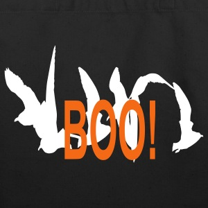 Boo!  - Eco-Friendly Cotton Tote
