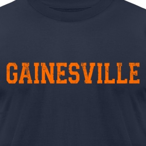 Gainesville T-Shirts - Men's T-Shirt by American Apparel