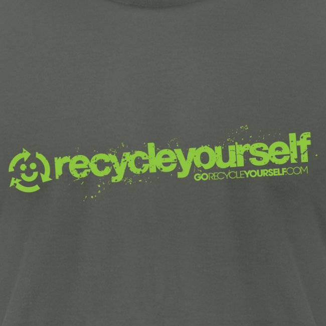 Go Recycle Yourself Happy Face