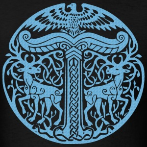 Black Irminsul T-Shirts - Men's T-Shirt