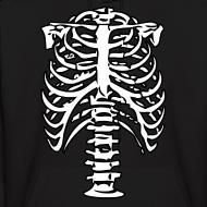 Design ~ Skeleton Ribs Hoodie