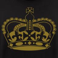 Design ~ Mens Designer Gold Print Zipper Hoodie