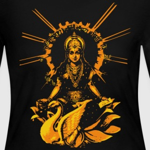 Chocolate siva or shiva fashion design Long Sleeve Shirts - Women's Long Sleeve Jersey T-Shirt