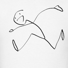 Happy Running Stickman