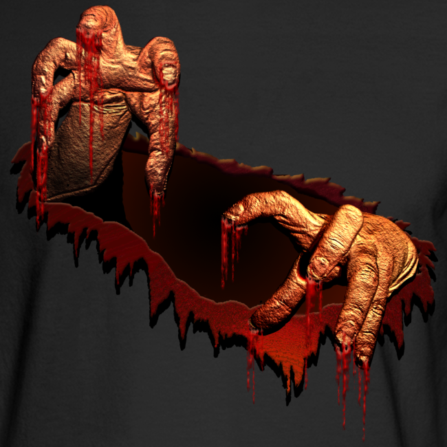 Zombie Shirts Gory Halloween Scary Zombie Costume Shirt