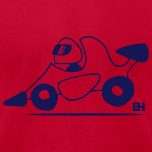Race car - Men's T-Shirt by American Apparel