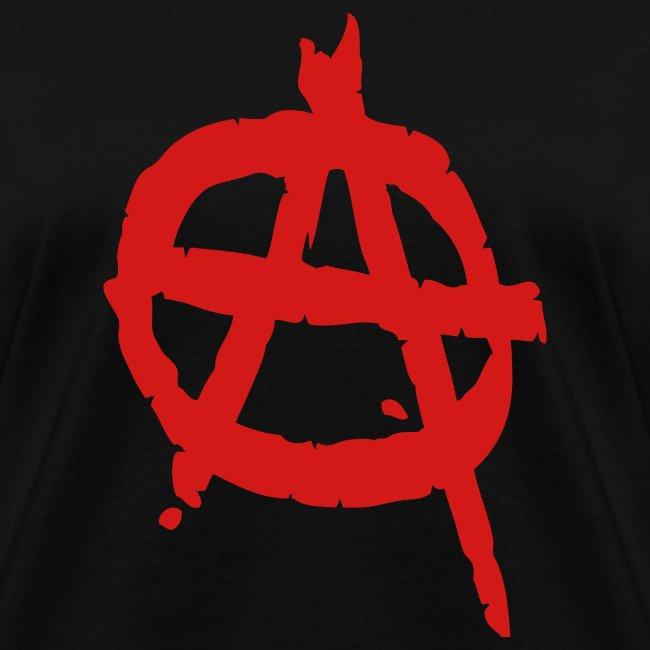 Anarchy Symbol Women's Tee Shirt