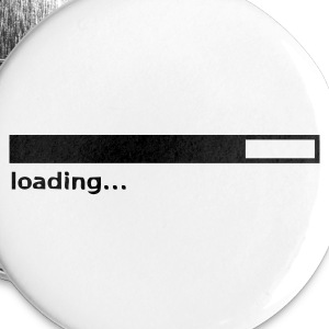 White loading Buttons - Large Buttons