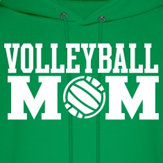 Volleyball Mom Hooded Sweatshirt
