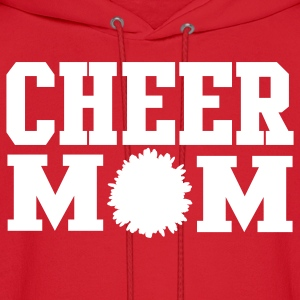Cheer Mom Hooded Sweatshirt - Men's Hoodie