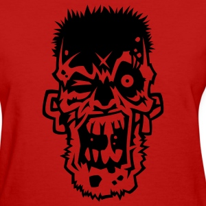 Red Zombie 2 Women's T-Shirts - Women's T-Shirt