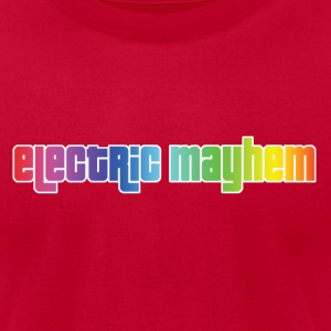 Electric Mayhem - Men's T-Shirt by American Apparel