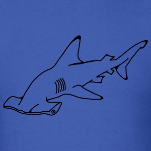 Hammerhead Shark 1c - Men's T-Shirt