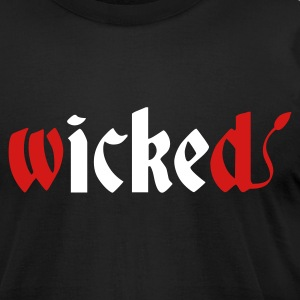 Wicked - Men's T-Shirt by American Apparel