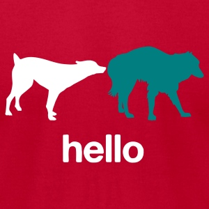 Hello - Men's T-Shirt by American Apparel