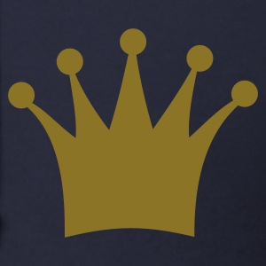 Navy crown, king, queen, prince, princess Zip Hoodies/Jackets - Men's Zip Hoodie