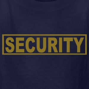 Navy Security Kids' Shirts - Kids' T-Shirt