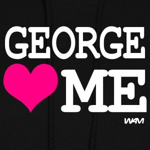 george loves me by wam Sweats à capuche - Molleton à capuche pour femmes