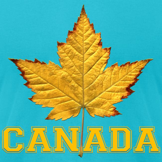 Canada T-shirt Men's Maple Leaf Souvenir T-shirts