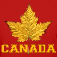 Womens Canada Shirt Maple Leaf Souvenir Shirt