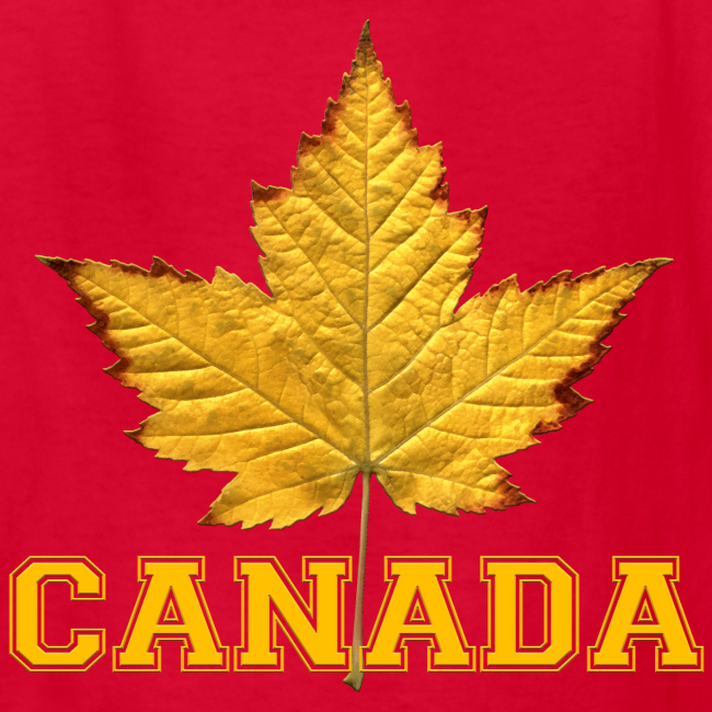 Kid's Canada T-shirt Canada Maple Leaf Kid's Shirt