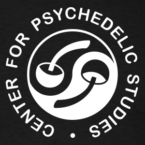 Psychedelic Studies - monochrome - Men's T-Shirt