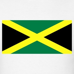 White Jamaican Flag T-Shirts