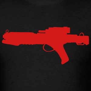 Blaster Rifle Gun 1c - Men's T-Shirt