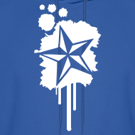 Design ~ Paint splatter Nautical Star Design