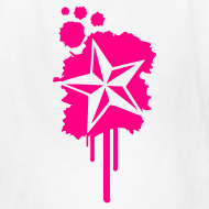Design ~ Nautical Star Paint Splatter