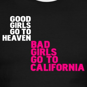 Black/white bad girls go to california T-Shirts - Men's Ringer T-Shirt