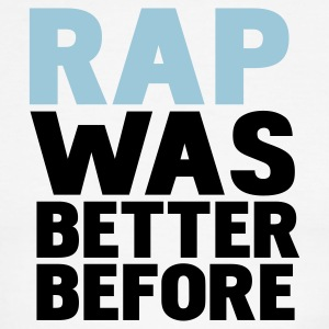 White/black rap was better before T-Shirts - Men's Ringer T-Shirt