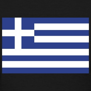Black Greek Flag Women's T-Shirts - Women's T-Shirt