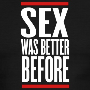 Black/white sex was better before T-Shirts - Men's Ringer T-Shirt