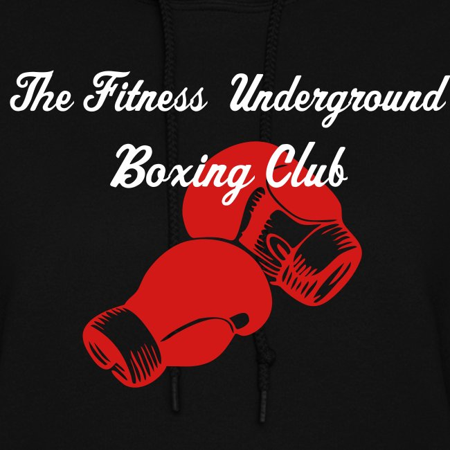 Ladies Boxing Club Hooded Sweatshirt