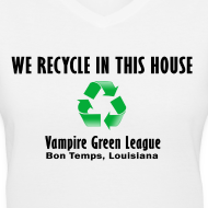 Design ~ Recycle - White - Womens
