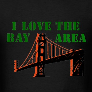 Black Bay Area T-Shirts - Men's T-Shirt