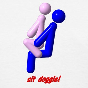 The Stics - sit doggie - Women's T-Shirt