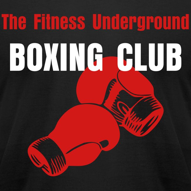 Men's Old School Boxing Club T Shirt
