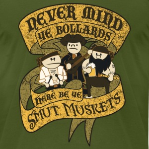 Never Mind Ye Bollards... T-Shirts - Men's T-Shirt by American Apparel