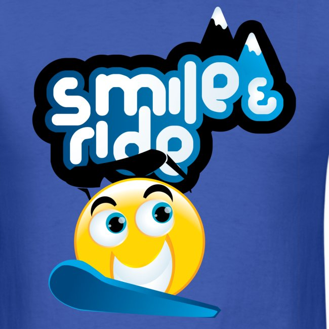 Men's Smile And Ride T