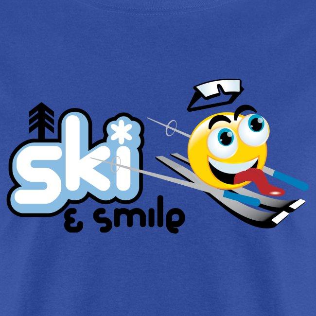 Men's Ski And Smile T