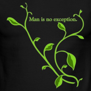 Chocolate/tan manisnoexception_copy T-Shirts - Men's Ringer T-Shirt