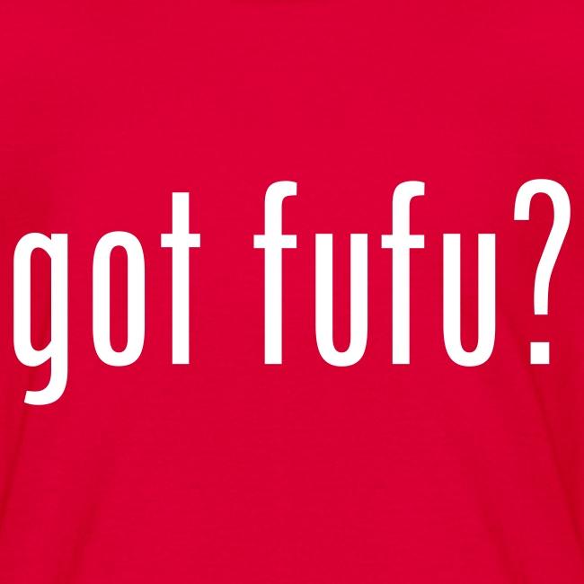 got fufu - Boy's Tee - Red / White