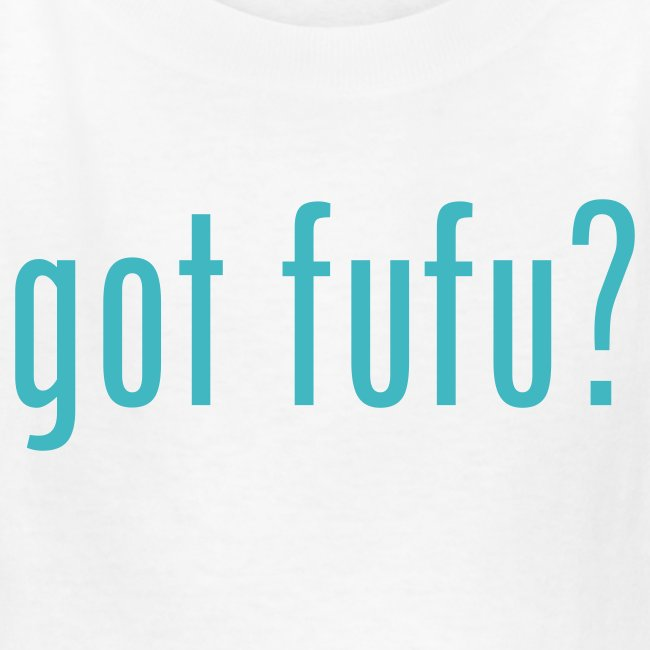 got fufu - Girls's Tee - White / Aqua